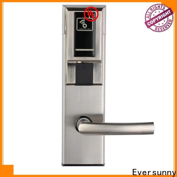 Eversunny Electronic card door lock system hotel smart locks for hotel