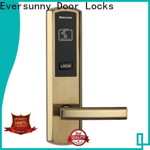 Eversunny practical hotel card lock system stainless steel for hotel