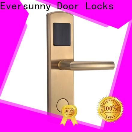 safe key card door lock energy-saving for home