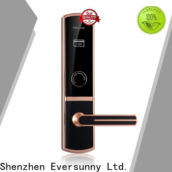 practical card reader door lock international standard for apartment