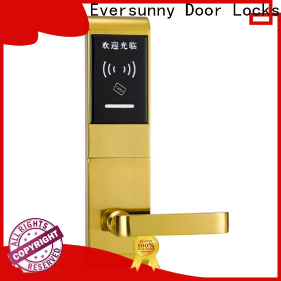 Eversunny smart card door entry system hotel smart locks for hotel