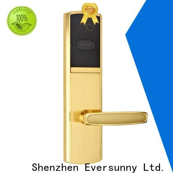 Eversunny smart key card door lock price energy-saving for door