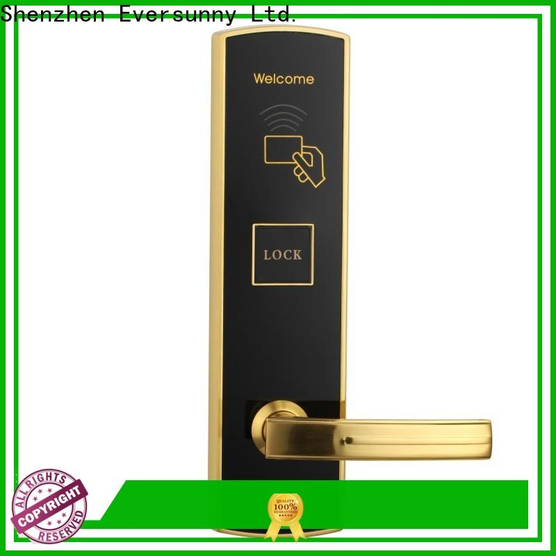 Eversunny hotel key card lock with central management control system for home