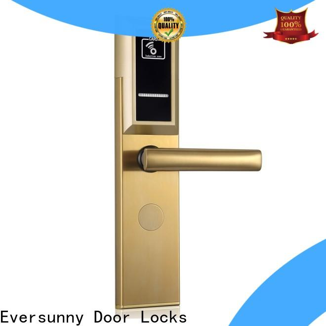 Eversunny door key card system stainless steel for home