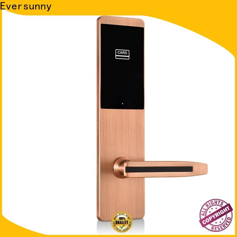 Electronic keycard lock stainless steel for hotel