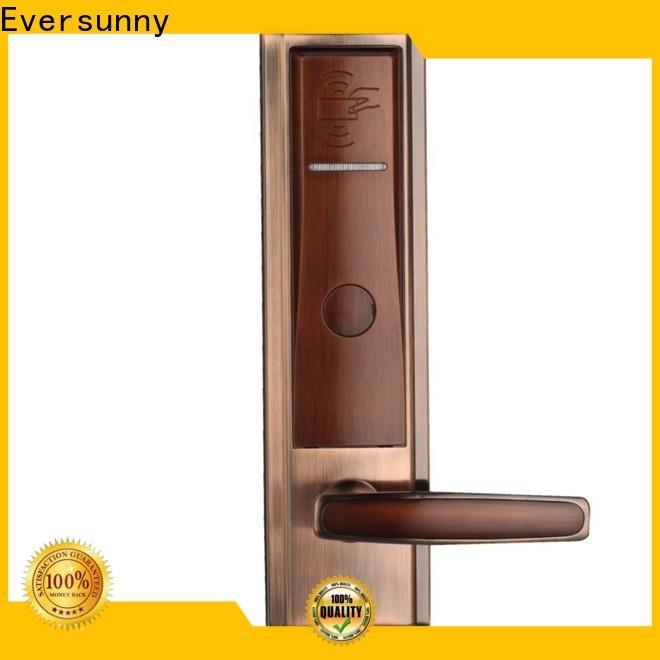 convenient card reader door lock international standard for door