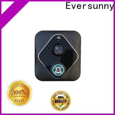 Eversunny wireless wifi video doorbell with central management control system for door