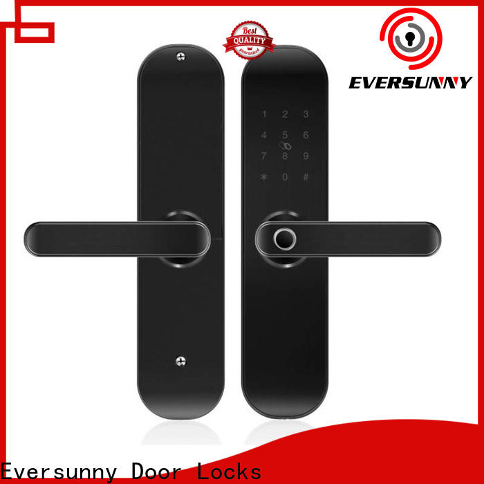Eversunny biometric door lock front door for house
