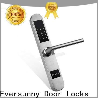 Eversunny key code door lock smart for door