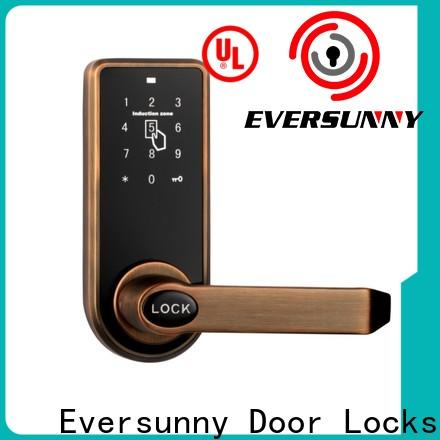 Eversunny keyless punch code lock touch screen for office