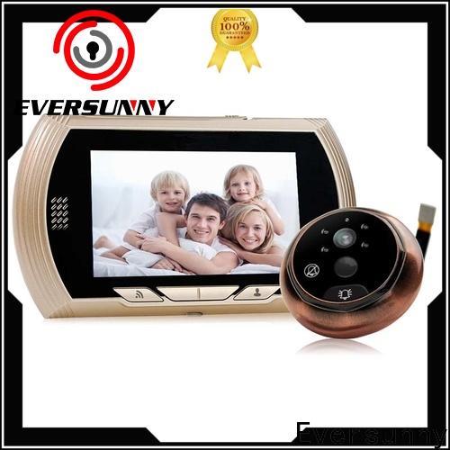 electronic digital peephole viewer wifi prevent damage for peepholecam