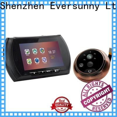 electronic peephole viewer intelligent for home
