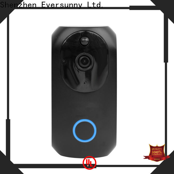 Eversunny fast wifi security doorbell hotel smart locks for apartment