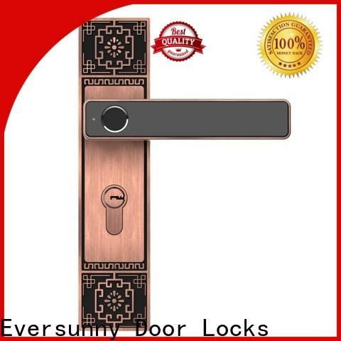best smart fingerprint lock knob for office