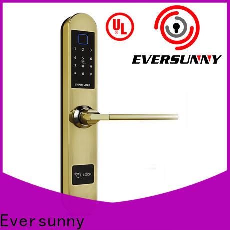 Eversunny fingerprint door lock price for villa