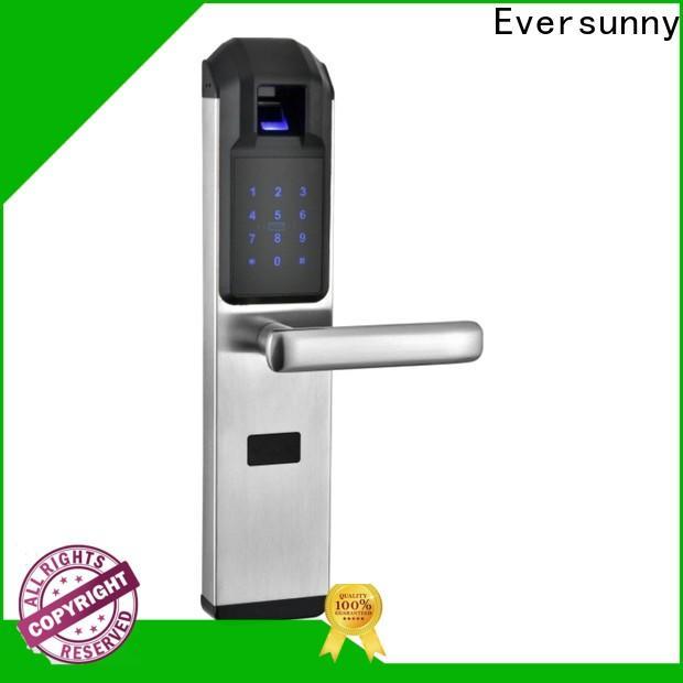 Eversunny fingerprint door lock price touch screen for residence