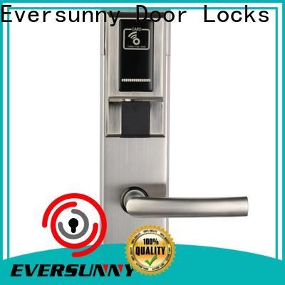 Eversunny smart card access door lock hotel smart locks for apartment