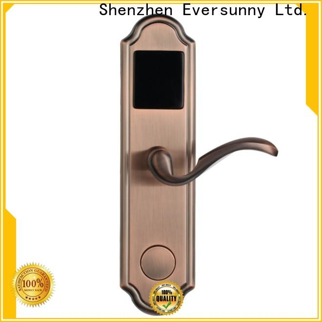 fast key card entry system stainless steel for apartment