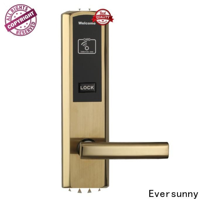 Eversunny Electronic card door lock with central management control system for apartment