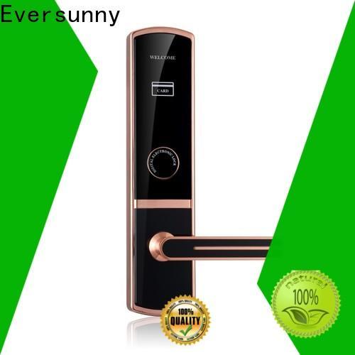 Eversunny practical key card lock system hotel smart locks for hotel