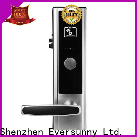 Eversunny card door lock system hotel smart locks for home