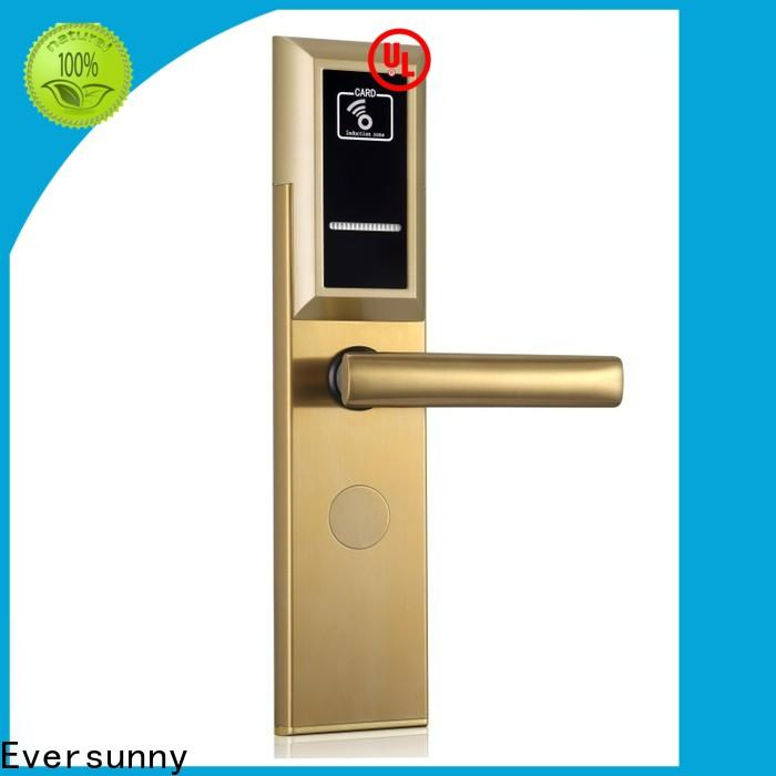 smart card lock stainless steel for apartment