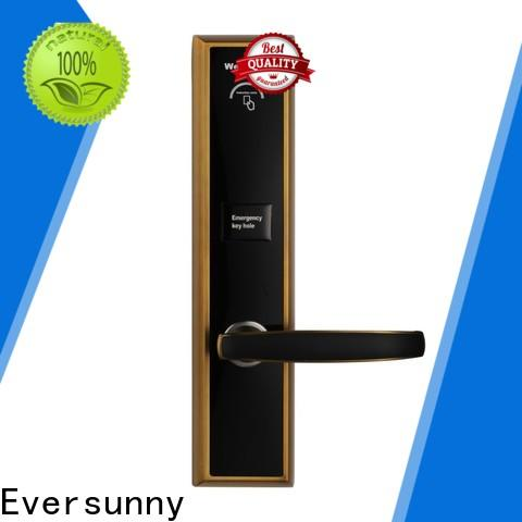 Eversunny key card lock system with central management control system for hotel