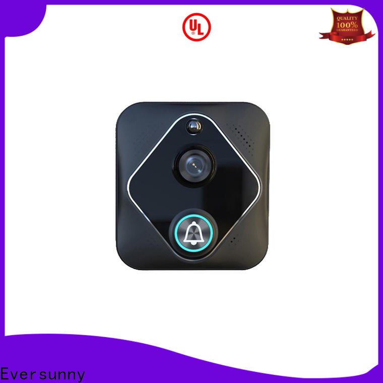 Eversunny smart wifi video doorbell stainless steel for apartment