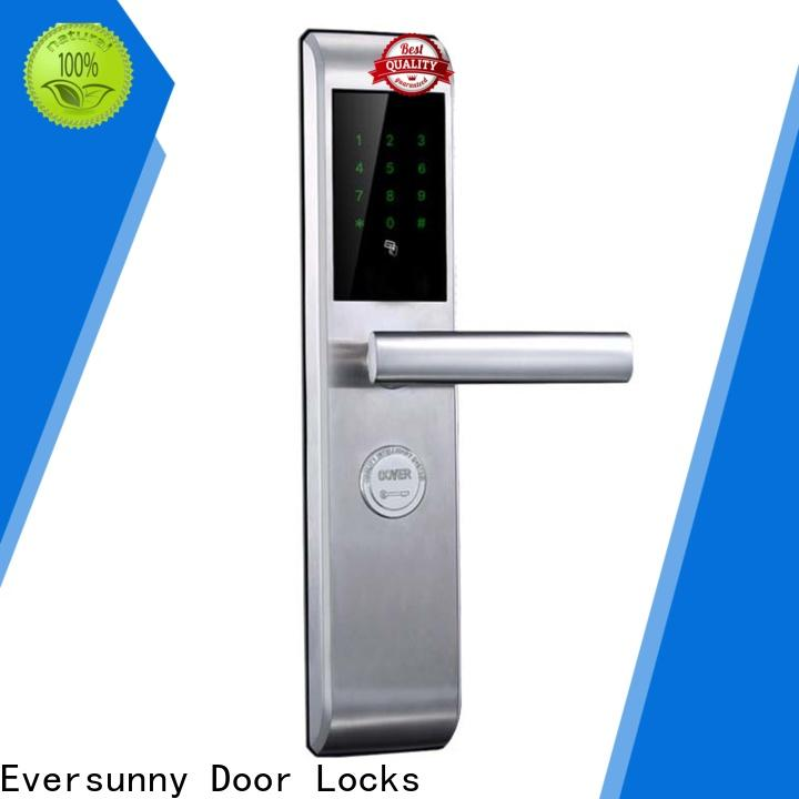 Eversunny security locks for doors with code touch screen for office