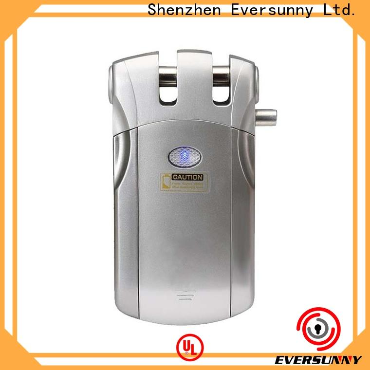 Eversunny simple remote control door locks for homes factory price for cottage