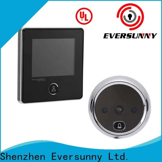 Eversunny convenient best digital peephole automatically for sliding door