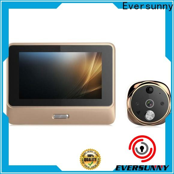 Eversunny video peephole wifi high reliability for office