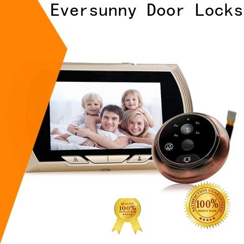 smart peephole wifi prevent damage for home