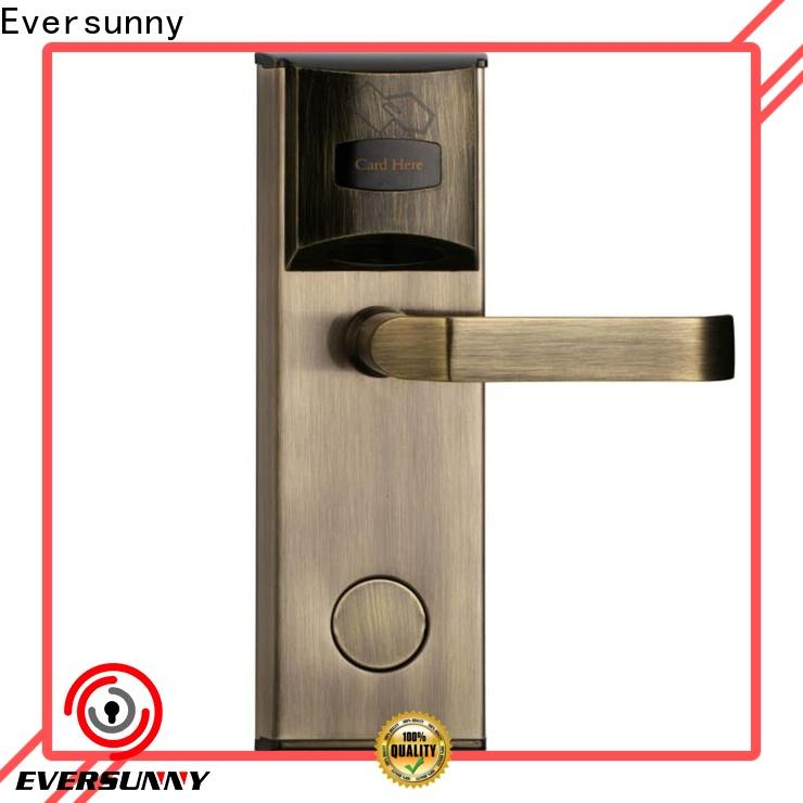 Eversunny card door lock system international standard for apartment