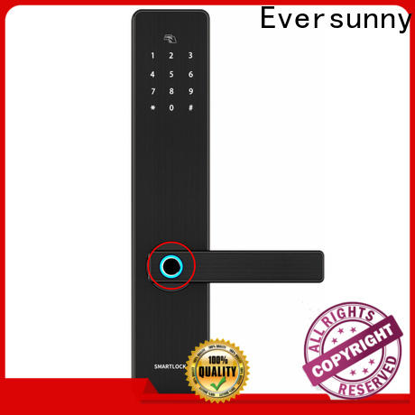 Eversunny thumbprint door lock deadbolt for office