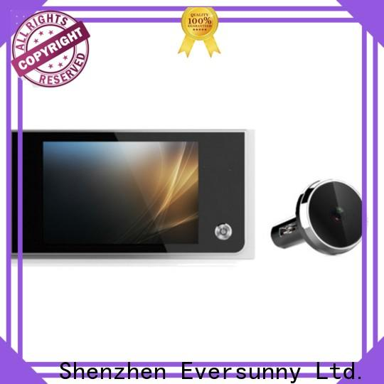 Eversunny electronic door viewer large wide-angle lens for house