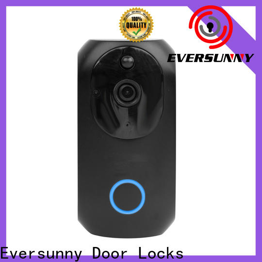 Eversunny wireless wifi video doorbell energy-saving for door