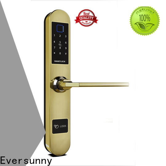Eversunny finger scan door lock supplier for cottage