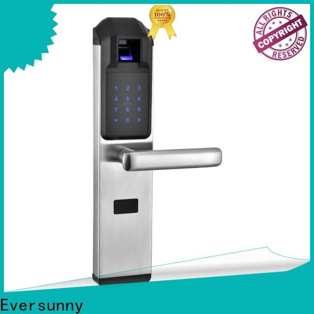 Eversunny reliable top fingerprint lock factory price for residence