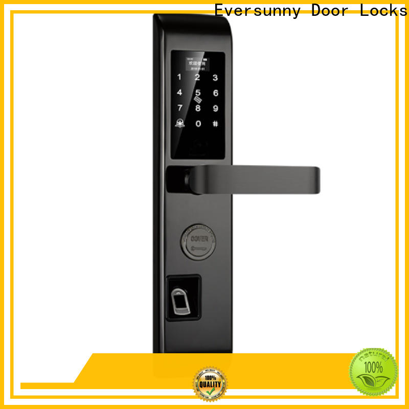 intelligent top fingerprint lock front door for cottage