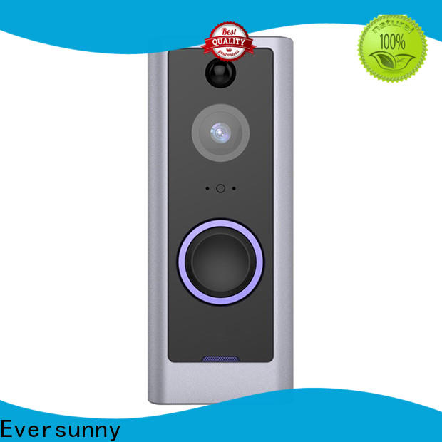 Eversunny convenient best wifi doorbell stainless steel for apartment