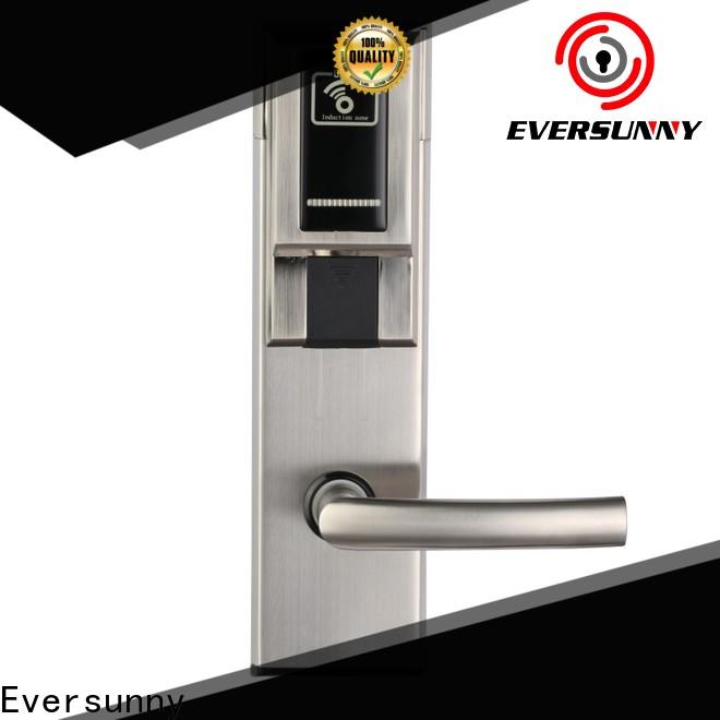 fast key card door lock system with central management control system for apartment