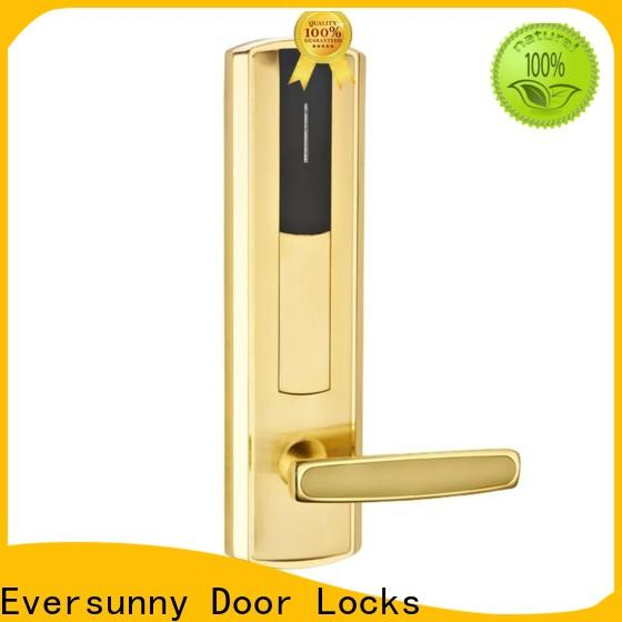 Eversunny reliable rfid card lock international standard for hotel