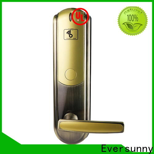 Eversunny card access locks hotel smart locks for door