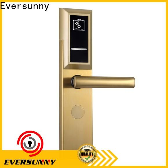 Eversunny hotel card key system suppliers with central management control system for door