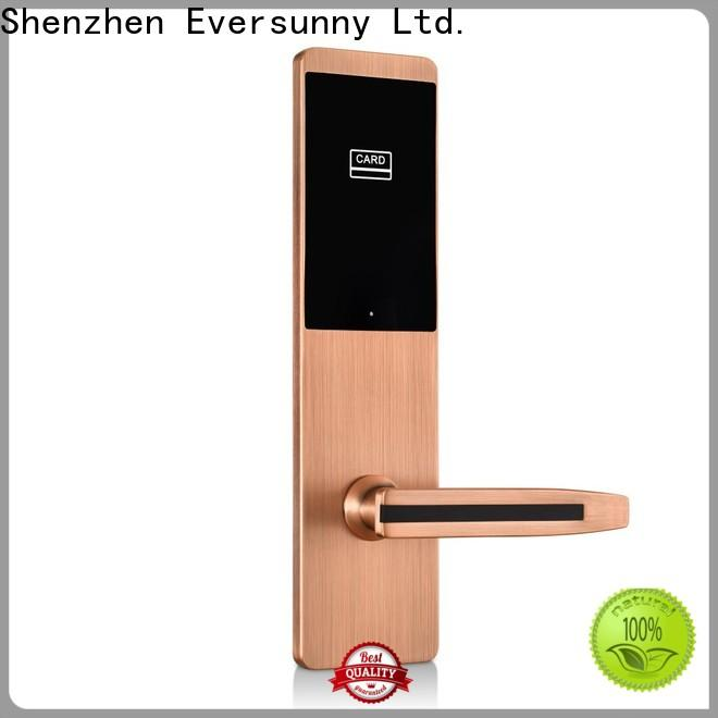 Electronic hotel card lock system stainless steel for apartment