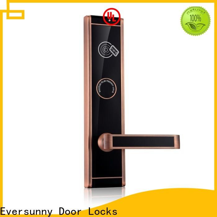 Eversunny card access door lock system with central management control system for door
