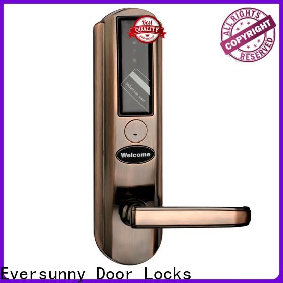 Eversunny key card door entry systems with central management control system for home