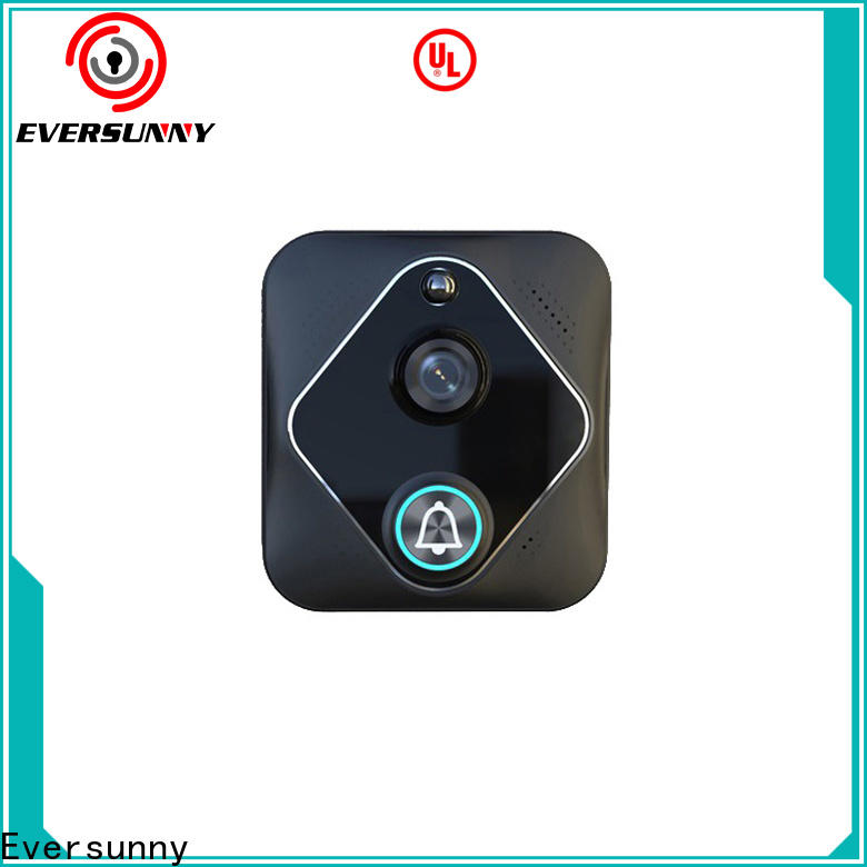Eversunny fast best wireless video doorbell with central management control system for hotel
