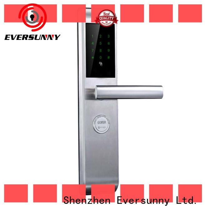 Eversunny key code lock entry home for hotel